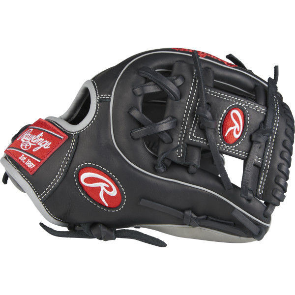 """Composite Bats 2018 Rawlings Gamer 11.5"""" Infield Glove Pro I Web, Right Hand Throw"""