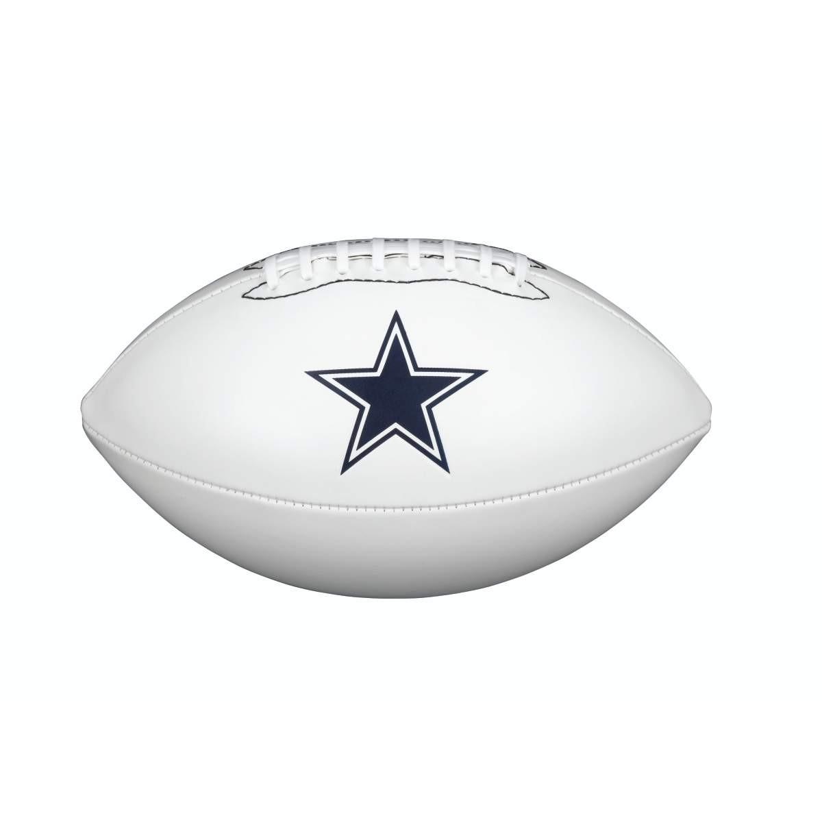 e15fc039 Details about 2019 Wilson NFL Team Autograph Football - Dallas Cowboys